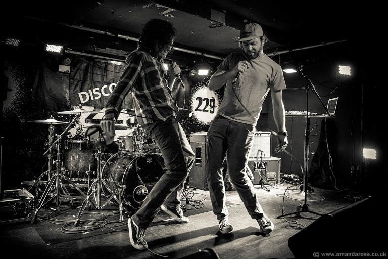 Adventures Of, performing Live at Discovery 2, 229 The Venue, London, 24th September 2015