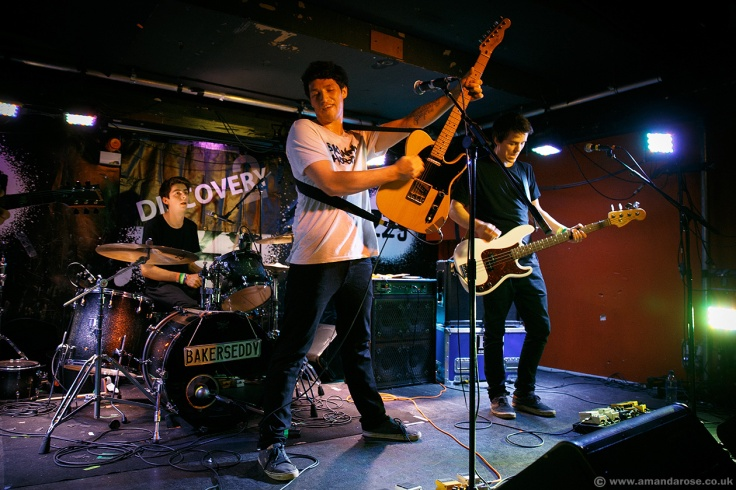 Bakers Eddy, performing Live at Discovery 2, 229 The Venue, London, 24th September 2015