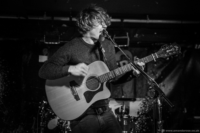 Alex Hulme, performing Live at Discovery 2, 229 The Venue, London, 26th March 2015