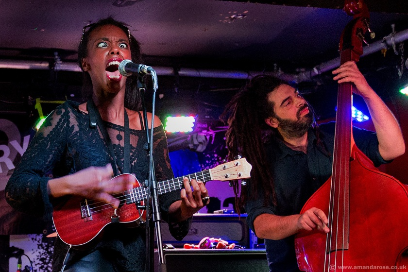 Nakisha Esnard, performing Live at Discovery 2, 229 The Venue, London, 30th April 2015