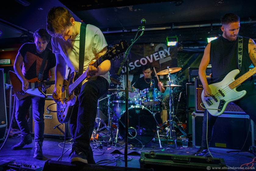 The Undivided, performing Live at Discovery 2, 229 The Venue, London, 30th April 2015