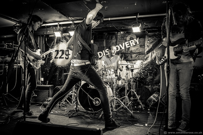 Ded Rabbit, performing Live at Discovery 2, 229 The Venue, London, 25th June 2015