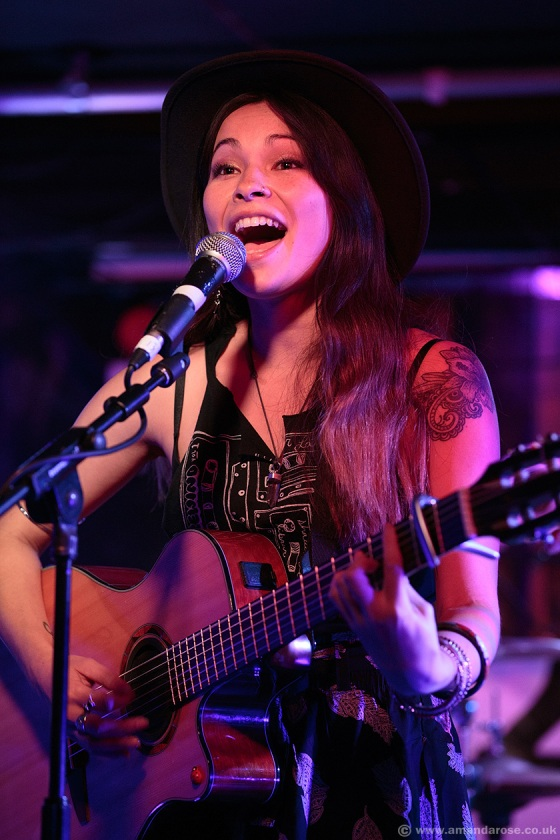Lisa Marini, performing Live at Discovery 2, 229 The Venue, London, 24th September 2015