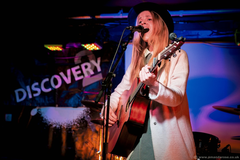 Anna Pancaldi, performing Live at Discovery 2, 229 The Venue, London, 28th January 2016